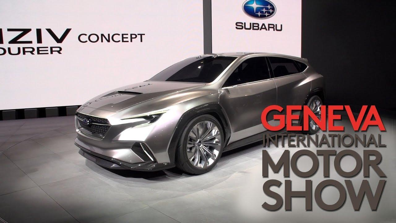 Autosalon Genf 2018 Subaru Viziv Tourer Concept