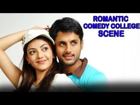 Nithin Romantic Comedy College Scene |...