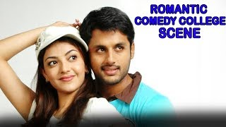 Nithin Romantic Comedy College Scene | 2018 Latest Hindi Dubbed Funny Hilarious Scenes