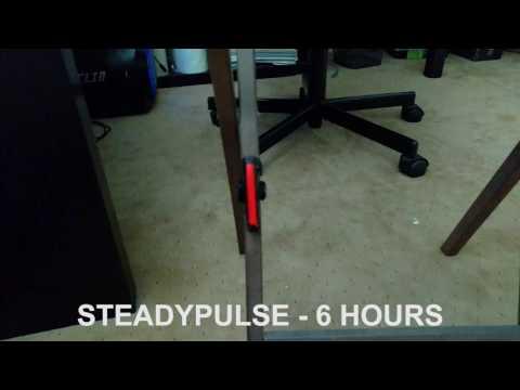 CYGOLITE  HOTROD -  LED USB CYCLING LIGHTS:  LIGHTING MODES (FRONT & REAR)