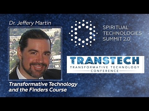 Transformative Technology and the Finders Course with Jeffery Martin