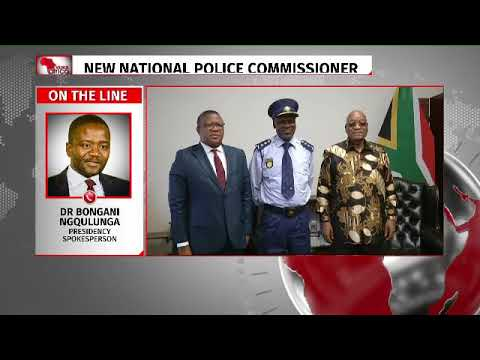 President Zuma appoints new police commissioner