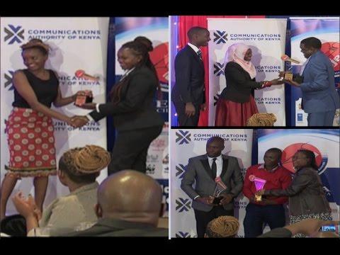 Nation Media Group journalists reign supreme at AJEA awards