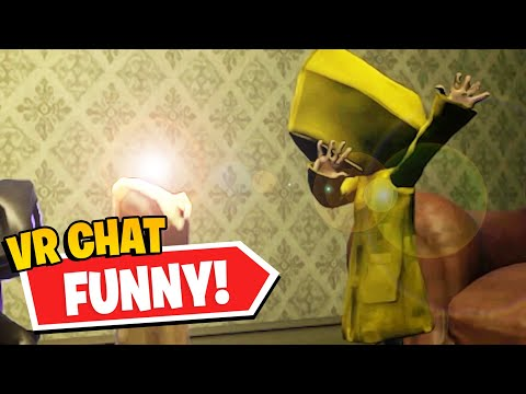 SIX & MONO FIGHT IN VR! | Little Nightmares II (Funny Compilation #1) |