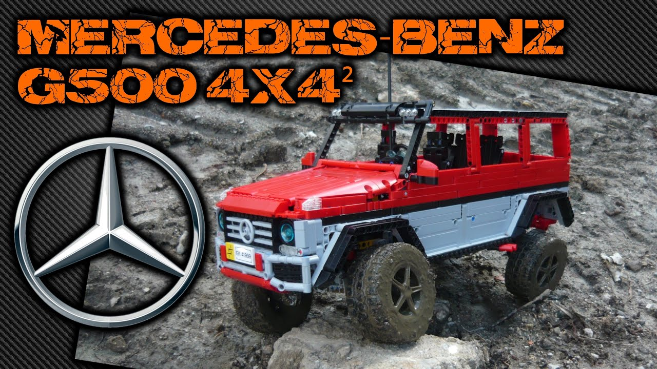 lego mercedes benz amg g500 4x4 squared youtube. Black Bedroom Furniture Sets. Home Design Ideas