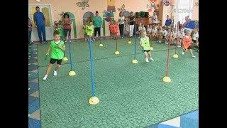 У Сумському садочку влаштували олімпійський урок з майстром спорту України міжнародного класу