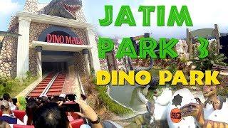 Dino Park di Jatim Park 3 Batu Malang Seru Jelajahi Wahana Dinosaurus