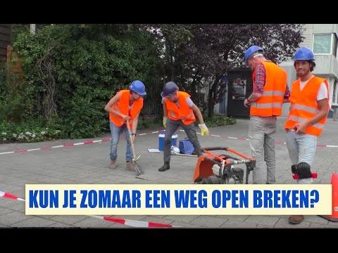 Streetlab - Kun je zomaar een weg open breken?