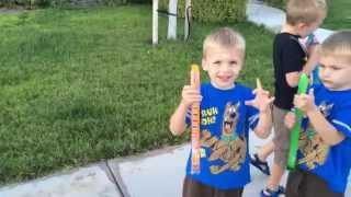 World's Largest Otter Pops! thumbnail