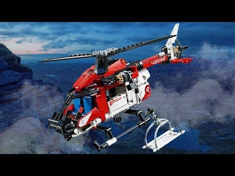 樂高LEGO 42092 救援直升機!螺旋槳動起來!