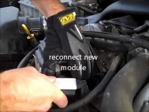 Glow plug module change 30L Jeep Grand Cherokee 2007 - YouTube