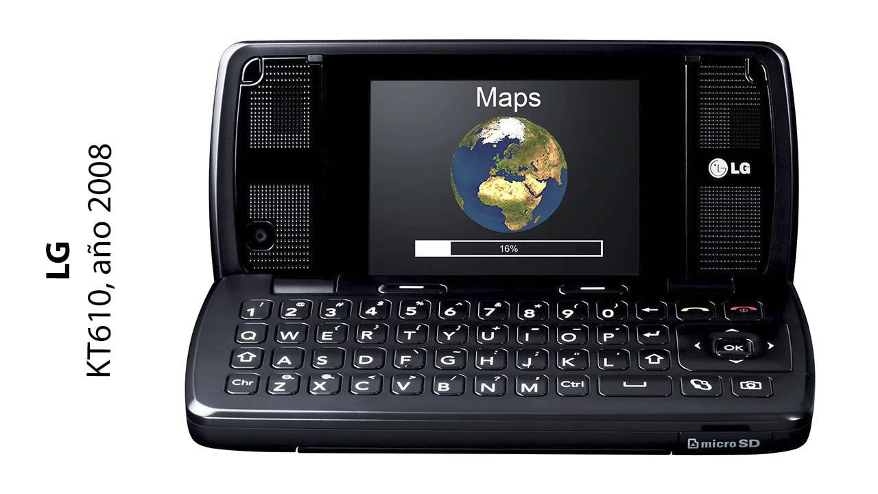 historia lg celular