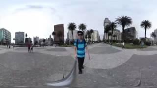 Baixar Plaza Independencia de Montevideo, Uruguay 2017 - Video VR 360 Grados
