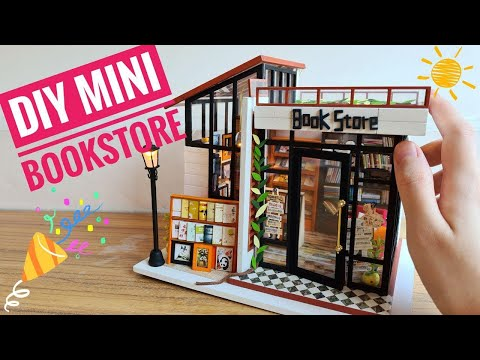 DIY Miniature Bookstore