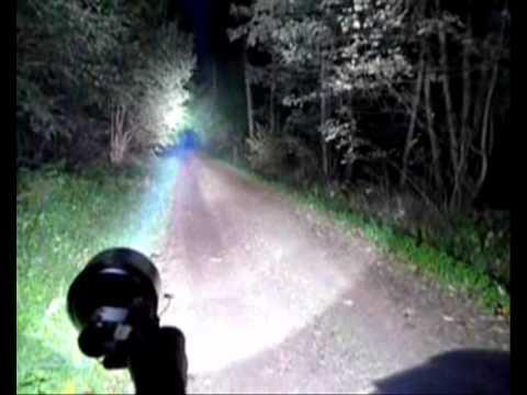 Hid Bicycle Lights Vs Car Light Youtube