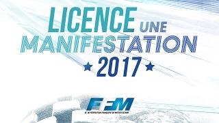 Licence une manifestation FFM