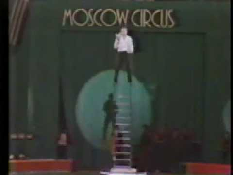 Gregory Popovich performs Juggling Act for Moscow Circus 1989