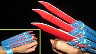 Como fazer um automático Wolverine garras | Varas de madeira