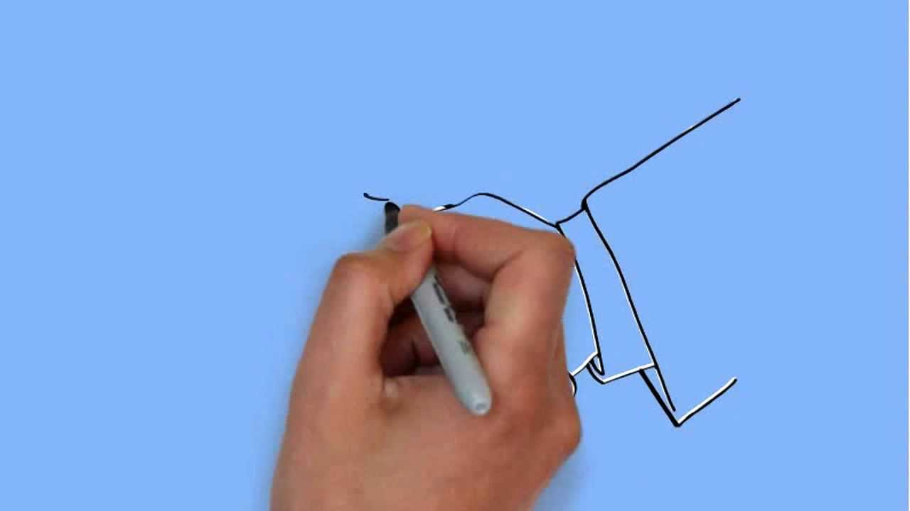 How To Draw Handshake Drawing Youtube