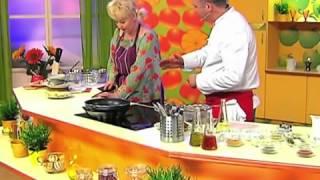 Салат из телятины с омлетом, «Нежинский» салат