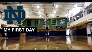 Vlog 6: My first day at Notre Dame.