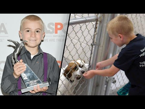 Boy Who's Saved 1,300 Dogs Named ASPCA's Kid of the Year