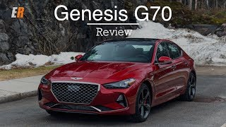 2019 Genesis G70 Review - Can it Compete Against the BMW 3 Series?
