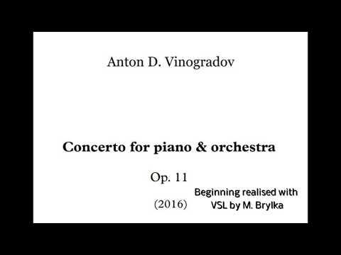 Vinogradov Piano Concerto Excerpt