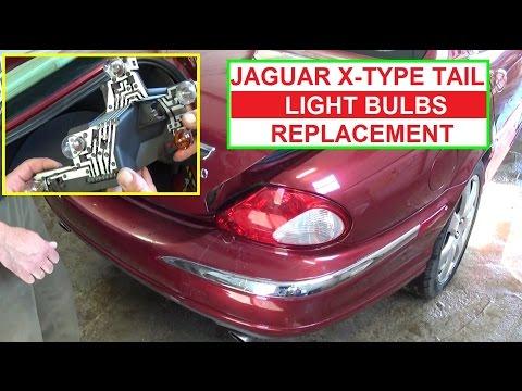 How to Replace Brake Light Tail Light Rear Turn Signal on Jaguar X-TYPE