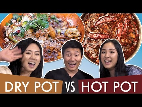 Thumbnail: Spicy DRY POT vs HOT POT: Which is better?!