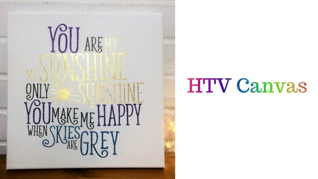 Effortless image within cricut printable htv