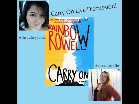 Carry On by Rainbow Rowell Live Show