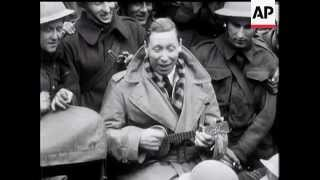 George Formby With The BEF - 1940