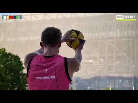 Die Final Fours bei der Beach Liga in Düsseldorf