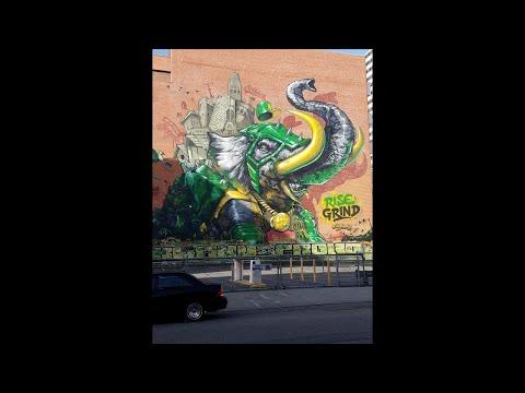 Lost Treasures: Oakland California's Wall art, Murals and Graffiti