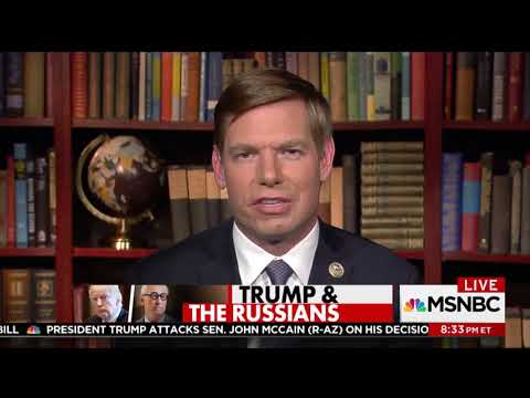 Rep. Swalwell on MSNBC discussing House Intelligence Committe's interview of Roger Stone