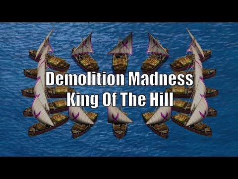 AoE2 - Demolition Madness! King Of The Hill!