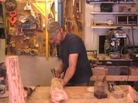 "San Juan Carpentry: ""How To Make Log Lamps"" with Scott Shaeffer"
