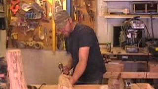 "San Juan Carpentry: ""how To Make Log Lamps"" With Scott Shaeffer"