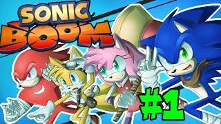 ABM: Sonic BOOM Rise Of Lyrics!! (walkthrough 1) Sonic Gangs Commentary!! HD!!