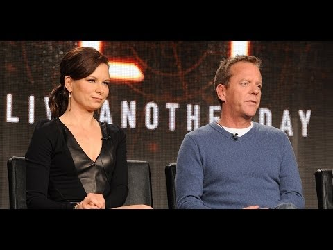 24: Interview - Live another Day - Kiefer Sutherland & Mary Lynn Rajskub
