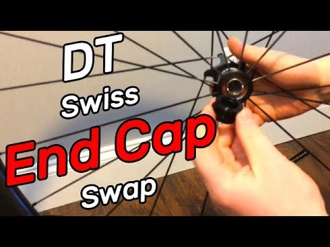 How to Swap Axle End Caps on a DT Swiss Front Hub