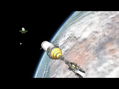 Reusable KSP2.4 - Laythe Surveyor Launch with Station Components
