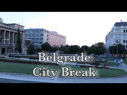 The Driving Vlog - city break - Belgrade, Serbia part 3, city sound and atmosphere.