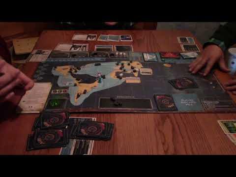 Pandemic Legacy Season 2 - Early May - SP0!LERS