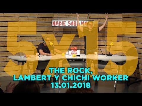 NADIE SABE NADA - (5x15): The Rock, Christopher Lambert y ChiChi Worker