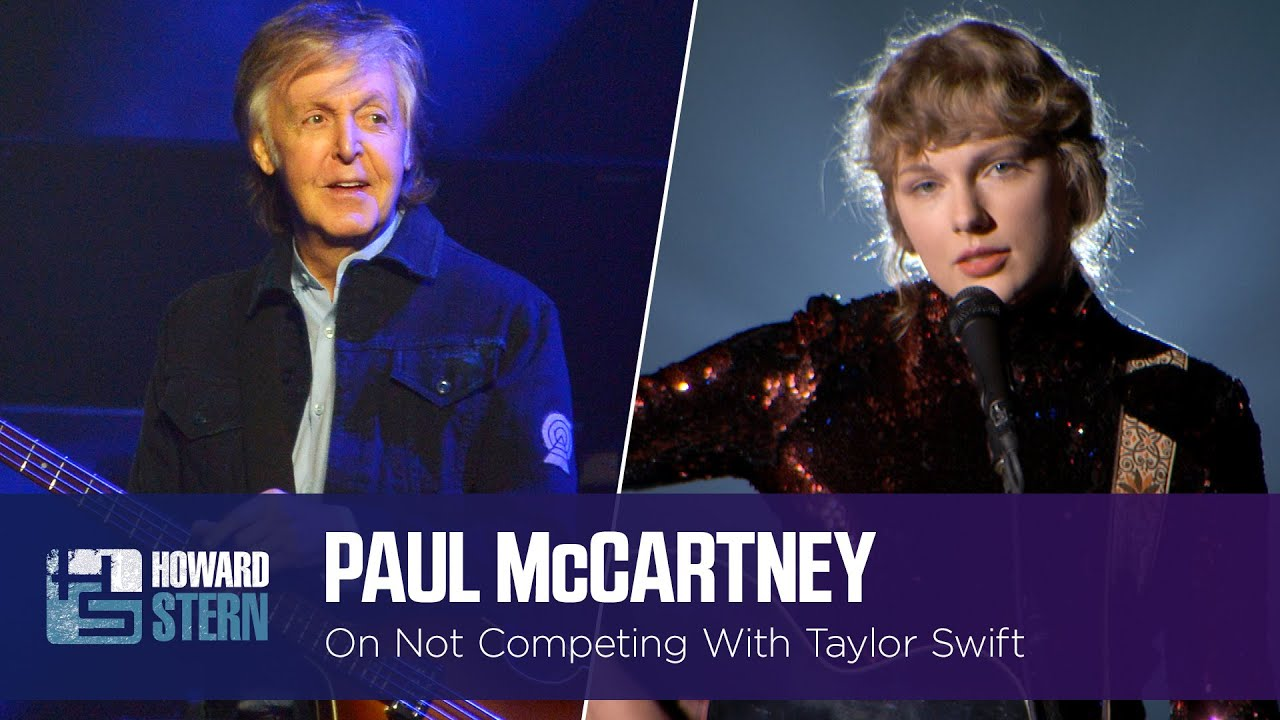 Paul McCartney on Not Competing Against the Rolling Stones or Taylor Swift