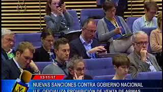 UE impondrá sanciones a Venezuela y países firmarán cooperar más en defensa