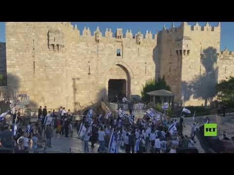 بدء مسيرة الإعلام لليمينيين اليهود في القدس