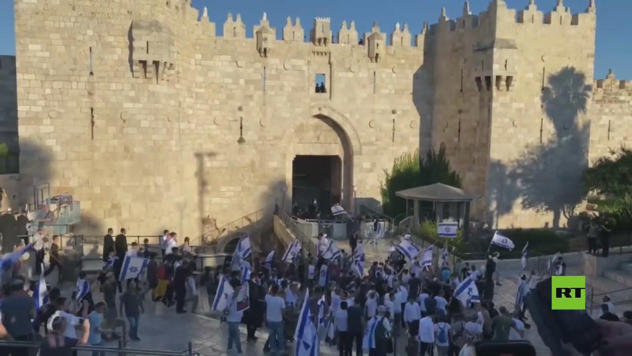 بدء مسيرة الإعلام لليمينيين اليهود في القدس  - 19:55-2021 / 6 / 15